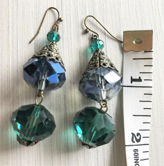 Other Pierced crystal earrings Image 9