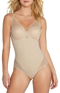 Miraclesuit Sexy Panel Extra Firm Control Thong Bodysuit 2770 Size 36C