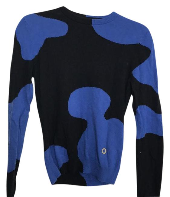 Preload https://img-static.tradesy.com/item/20942643/opening-ceremony-black-and-cobalt-blue-sweaterpullover-size-2-xs-0-1-650-650.jpg