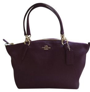 Coach Satchel in Plum