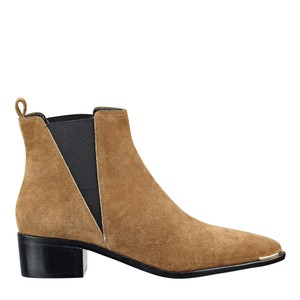 Marc Fisher dark natural suede Boots