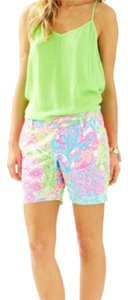 Lilly Pulitzer Bermuda Shorts lovers coral