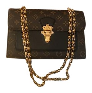 Louis Vuitton Chain Cross Body Shoulder Bag