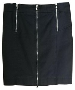 Marc by Marc Jacobs Skirt Black with silver zippers