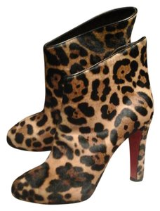 Christian Louboutin Brand New Pony Hair New In Box Under $499 Leopard Boots