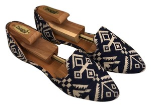 Coconuts blue and white Flats