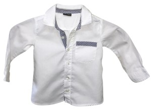 Fendi Button Down Shirt white