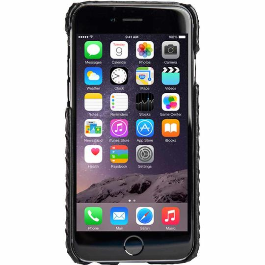 Agent 18 iphone 6 Black Weave Slimshield Image 2