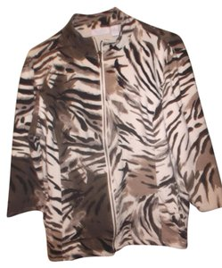 Chico's Animal Print Jacket