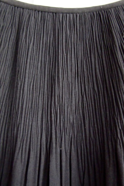 NIC+ZOE Pleats Rayon Stretch Stretchy Skirt gray Image 3