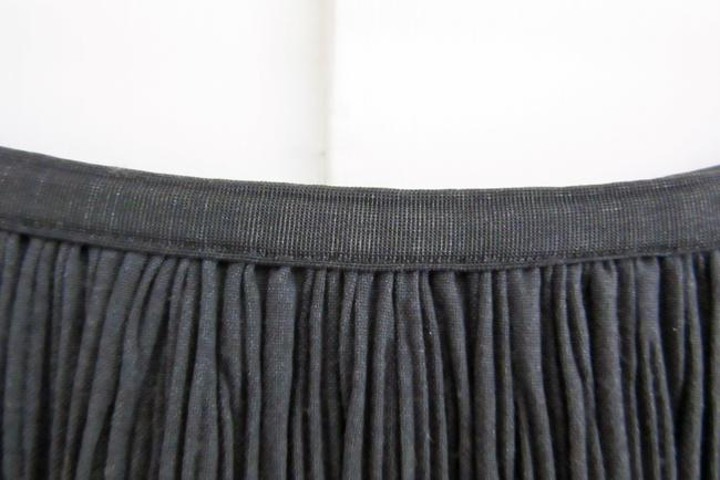 NIC+ZOE Pleats Rayon Stretch Stretchy Skirt gray Image 4