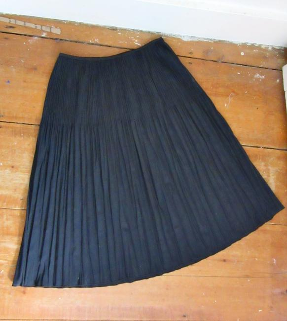NIC+ZOE Pleats Rayon Stretch Stretchy Skirt gray Image 5