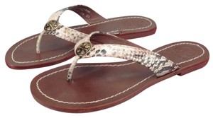 Tory Burch New In Box Never Worn Thora Natural Sandals