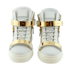 Giuseppe Zanotti Zanotti Men Zanotti Men Fashion White Gold Boots