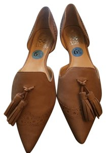 Vince Camuto Taupe Flats Taupe Flats