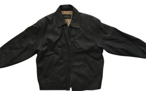 Barneys New York Leather Mens Leather Jacket