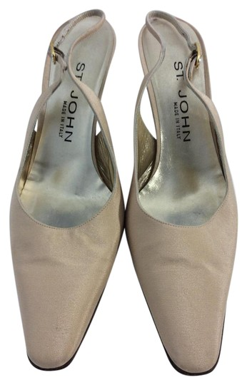 St. John Made in Italy Tan Pumps Image 0