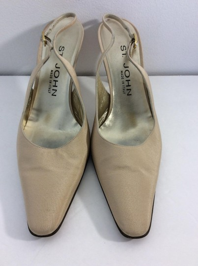 St. John Made in Italy Tan Pumps Image 1