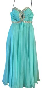 Night Moves Prom Collection Rhinestone Jeweled Dress