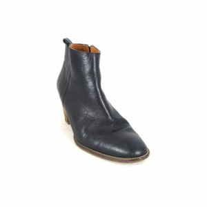 Madewell Leather Ankle Black Boots