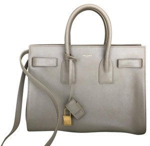 Saint Laurent Satchel in Vintage Beige