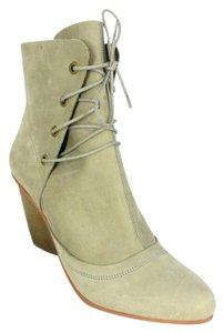 J SHOES Nubuck Suede Heeled Taupe Brown Boots