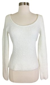 Victoria's Secret Sexy Deep Scoop Neck Cream Sweater