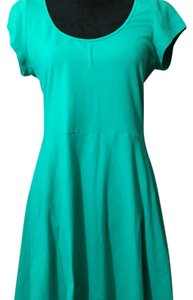 American Eagle Outfitters short dress teal on Tradesy