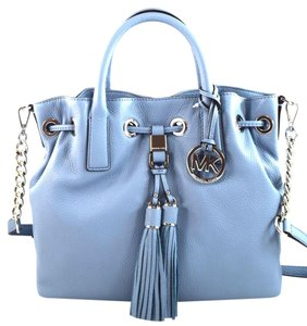 Michael Kors Satchel in Powder Blue