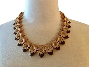 J.Crew J.CREW STACKED FLORAL NECKLACE