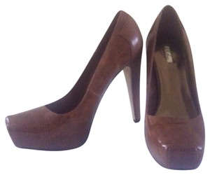 Wild Pair Brown/Cognac Platforms