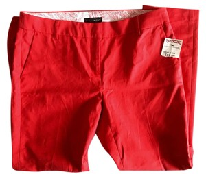 Willi Smith Capri/Cropped Pants Red