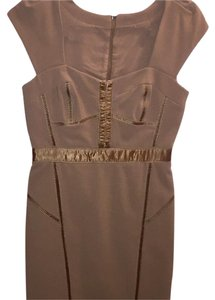 Rebecca Taylor Khaki Bustier Work Dress