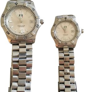 TAG Heuer His and Hers Matching Tag Watches