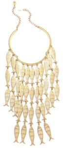 Tory Burch Tory Burch Fish Statement Necklace
