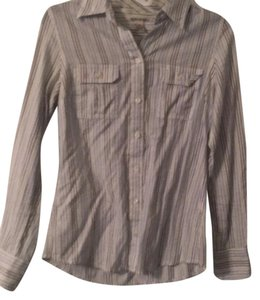 Lucky Brand Button Down Shirt multicolor, pink, white, blue, green