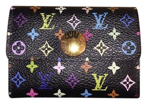 Louis Vuitton Authentic Louis Vuitton Multicolor Noir wallet bag