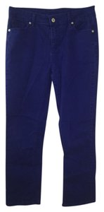 Liz Claiborne Straight Pants Blue