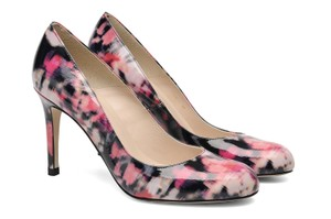 L.K. Bennett Patent Leather Multi-color Print Pumps