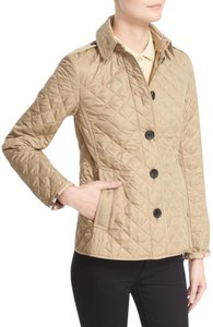 Burberry Quilted Trench Tan natural Jacket