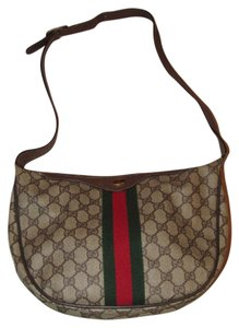 Gucci Roomy Top Zip Accessory Col High-end Bohemian Mint Vintage Perfect Everyday Hobo Bag