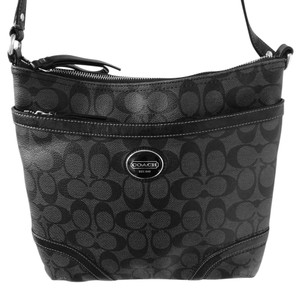Coach Signature Crossbody Messenger Messenger Bag