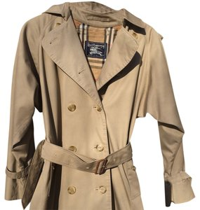 Burberry Trench Size M Double Breasted Trench Coat
