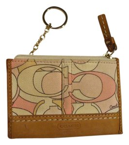Coach Coach key ring coin purse
