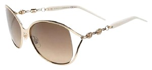 Gucci Marina Chain Swarovski Crystal Sunglasses White GG4250/N/S, Reduced