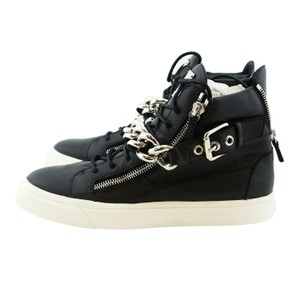 Giuseppe Zanotti Zanotti Boots Zanotti Sneakers Zanotti Metal Strap High-top Sneakers Men Black Athletic