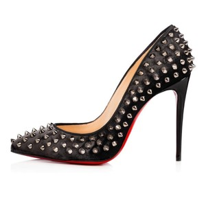 Christian Louboutin Heels Follies Studded Black Pumps