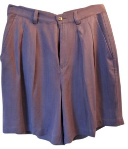 Tommy Bahama Silk Pleated Front Shorts Lavendar