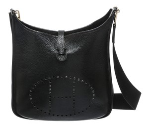 Hermès Evelyne Evelyne 1 Evelyne Black Messenger Bag