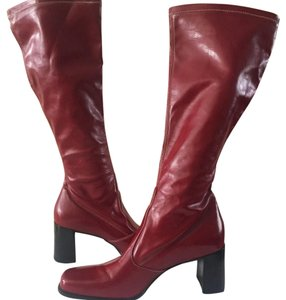 Franco Sarto Red Boots